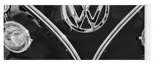 1964 Volkswagen Vw Double Cab Emblem Yoga Mat
