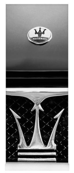 1967 Maserati Ghibli Grille Emblem Yoga Mat