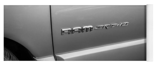 2004 Dodge Ram Srt 10 Viper Truck Painted Bw  Yoga Mat