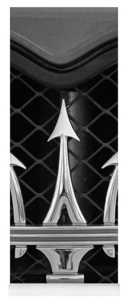 2005 Maserati Gt Coupe Corsa Emblem Yoga Mat