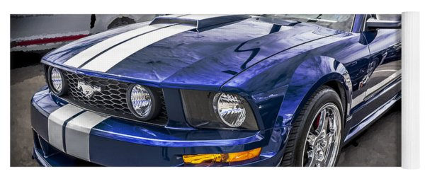 2008 Ford Shelby Mustang With The Roush Stage 2 Package Yoga Mat