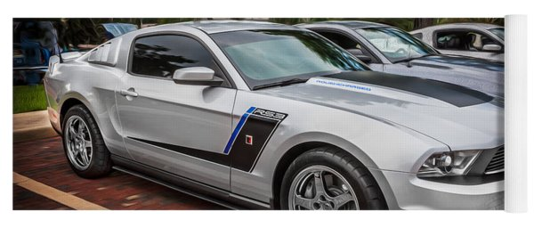 2012 Ford Roush Stage 3 Mustang Rs3 Painted  Yoga Mat