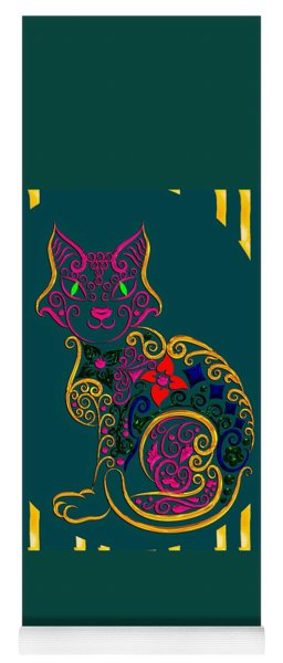 Cat Series 02 Yoga Mat