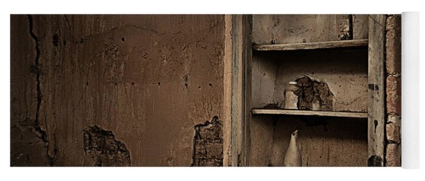 Abandoned Kitchen Cabinet Yoga Mat