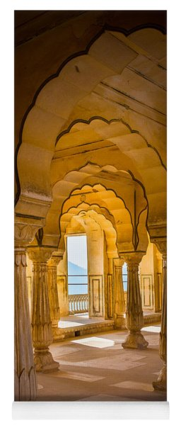 Amber Fort Arches Yoga Mat