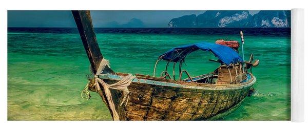 Asian Longboat Yoga Mat