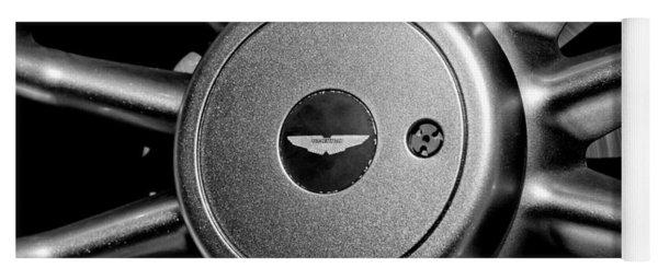 Aston Martin Db7 Wheel Emblem Yoga Mat