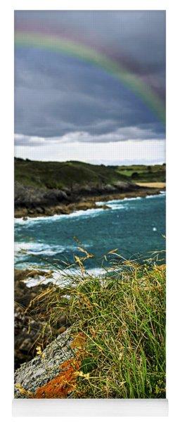 Atlantic Coast In Brittany Yoga Mat
