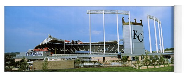 Baseball Stadium In A City, Kauffman Yoga Mat