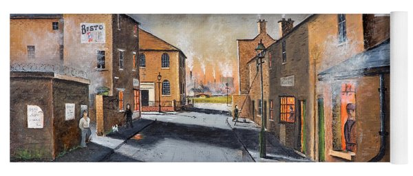 Black Country Village From The Boat Yard Yoga Mat
