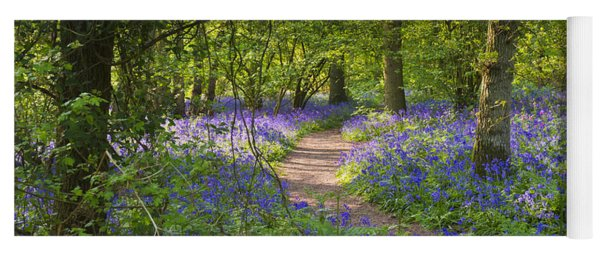 Bluebell Woods Walk Yoga Mat