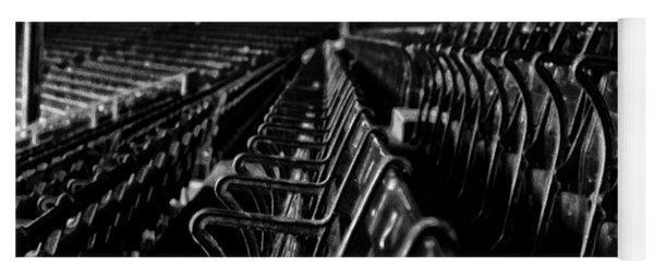 Bostons Fenway Park Baseball Vintage Seats Yoga Mat