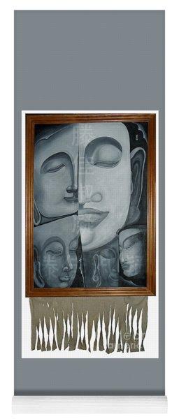 Buddish Facial Reactions Yoga Mat