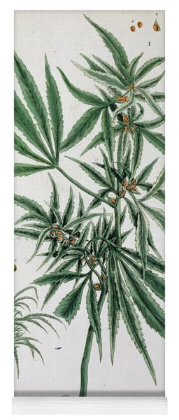 Cannabis  Yoga Mat