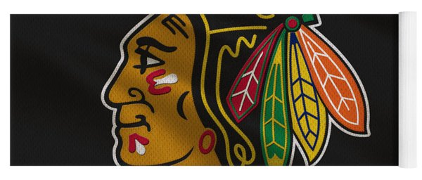 Chicago Blackhawks Uniform Yoga Mat