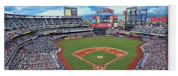 Citi Field 2 - Home Of The N Y Mets Yoga Mat