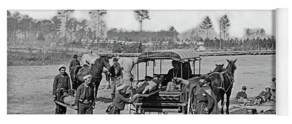 Civil War Ambulance, 1864 Yoga Mat