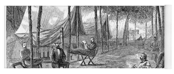 Civil War Camp, 1864 Yoga Mat