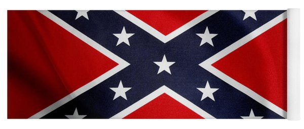Confederate Flag 5 Yoga Mat