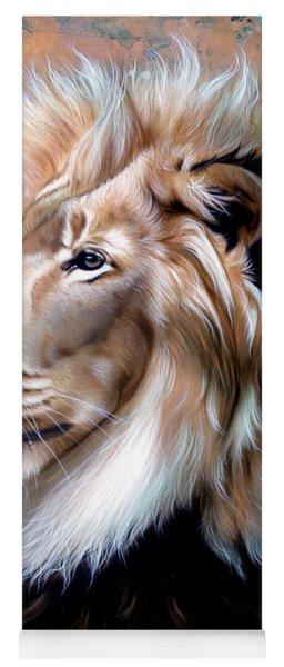 Copper King - Lion Yoga Mat
