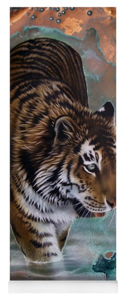 Copper Tiger I  Yoga Mat