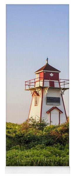 Covehead Harbour Lighthouse Yoga Mat