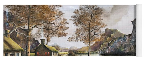 Crofters Cottages Yoga Mat