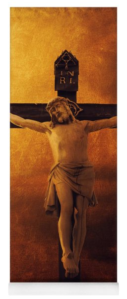 Crucifixcion Yoga Mat