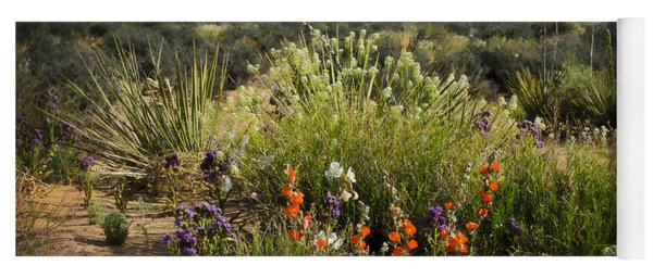 Desert Wildflowers Yoga Mat