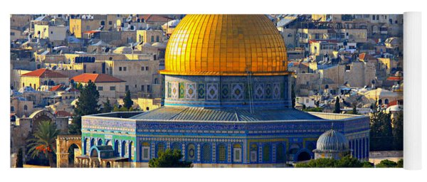 Dome Of The Rock Yoga Mat