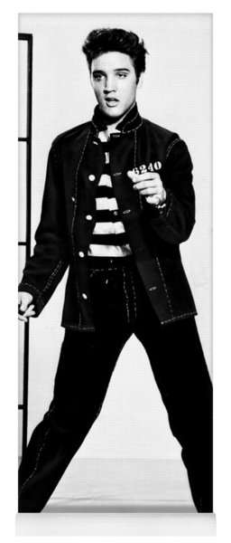 Elvis Presley Yoga Mat