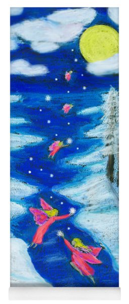 Faery Merry Christmas Yoga Mat