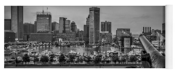 Federal Hill In Baltimore Maryland Yoga Mat