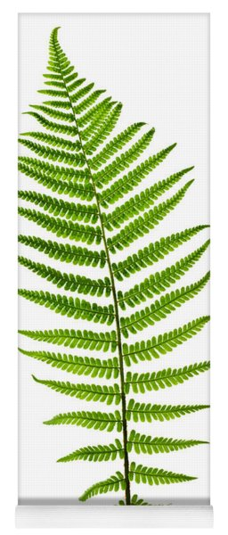 Fern Leaf Yoga Mat
