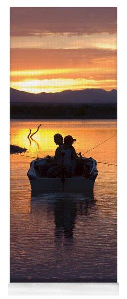 Fishing Boats Yoga Mat