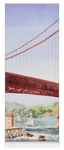 Golden Gate Bridge San Francisco Yoga Mat