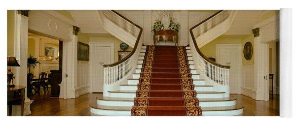 Grand Staircase - Alabama Governor's Mansion Yoga Mat