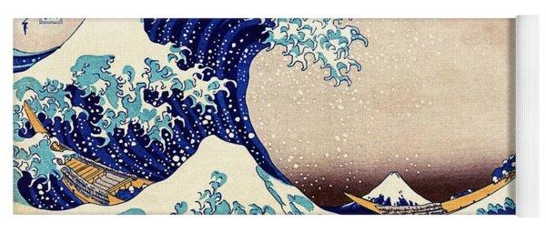 Great Wave Off Kanagawa Yoga Mat