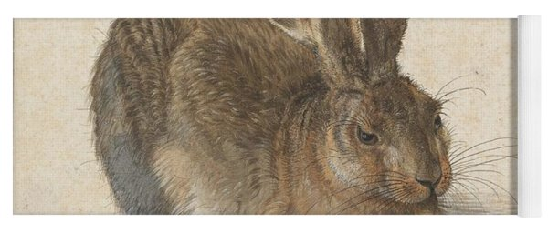 Young Hare Yoga Mat