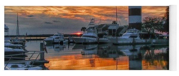 Harbour Town Sunset Yoga Mat