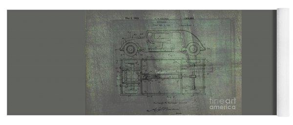 Harleigh Holmes Original Automobile Patent  Yoga Mat