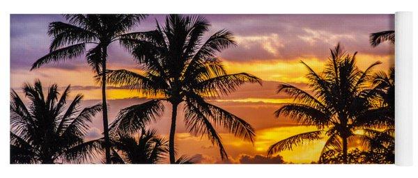 Hawaiian Sunset Yoga Mat
