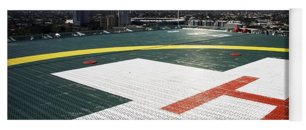 Hospital Helipad Yoga Mat