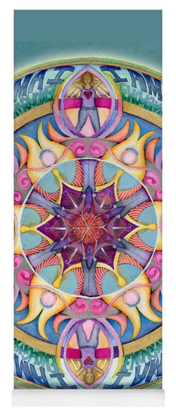 I Am Enough Mandala Yoga Mat