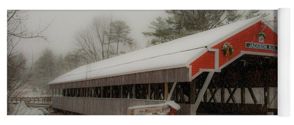 Jackson Nh Covered Bridge Yoga Mat