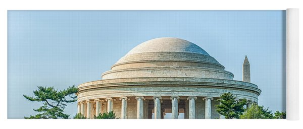 Jefferson Memorial Yoga Mat