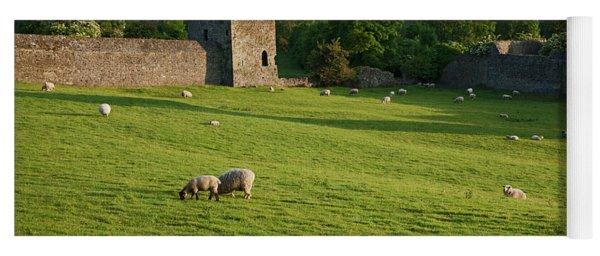 Kells Priory  Count Kilkenny, Ireland Yoga Mat