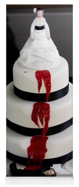Killer Bride Wedding Cake Yoga Mat