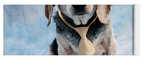 Kippy Beagle Senior And Best Dog Ever Yoga Mat