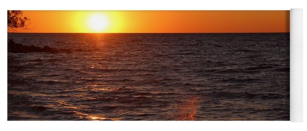 Lake Ontario Sunset Yoga Mat